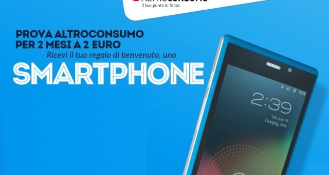 AltroConsumo regala uno smartphone Android con soli 2 euro per l'abbonamento bimestrale alla rivista.