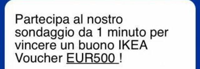 Arrivano a raffica i messaggi su Whatsapp che propongono un voucher Ikea da 500 euro in regalo. Si tratta di una maxi truffa: ecco cosa fare per evitarla.