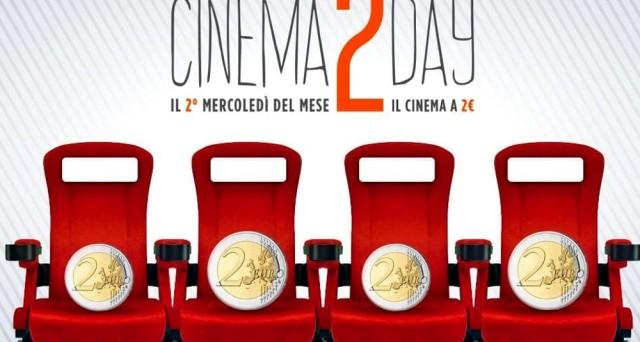 Ecco tutte le info su Cinema 2 Day che permetterà di visionare i  film a 2 euro il secondo mercoledì del mese. Ma quali saranno le sale convenzionate a Milano, Roma e Napoli?
