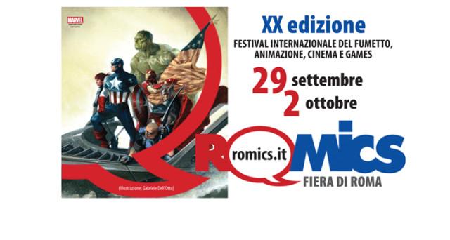 Ecco tutte le info su dove acquistare i biglietti, il prezzo, gli sconti , gli eventi e gli  ospiti della fiera del fumetto e dell'animazione ovvero Romics 2016.
