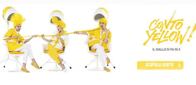 Ecco tutte le info su Conto Yellow di CheBanca, il conto corrente online che unisce tre elementi e come fare per aprirlo.