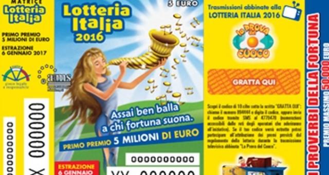 Ecco le info sull'Estrazione della Lotteria Italia di oggi 6 gennaio 2017: dove si potranno controllare i biglietti vincenti? Ed il regolamento?