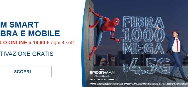 Ecco le migliori offerte e promozioni con fibra, internet illimitato, Tim Vision, chiamate illimitate ed internazionali, 1 GB in 4.5G da 19,90 euro proposte da Tim e Fastweb per la casa.