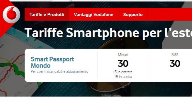 Ecco le info sulla super offerta Vodafone per l'estate 2017 grazie alla quale  si riceveranno minuti, messaggi e internet in 4G all'estero.