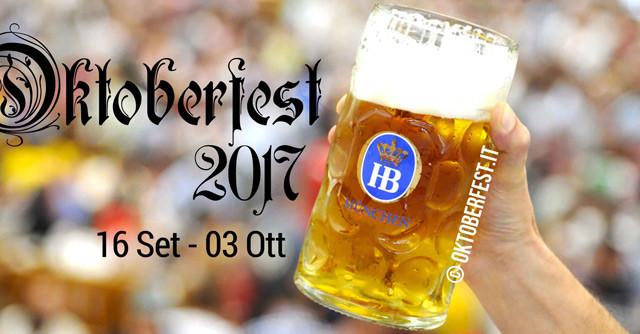 Le offerte per raggiungere l'Oktoberfest 2017 a Monaco in treno con DB e ÖBB.