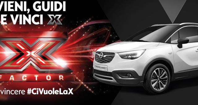 Un concorso di Opel per vincere i biglietti per assistere ai live e la finale di X Factor 2017. Ecco come partecipare.