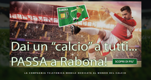 Dalla primavera 2019 Rabona Mobile passerà alla rete internet in 4G di Vodafone: info ed offerte del giorno da 3,99 euro.