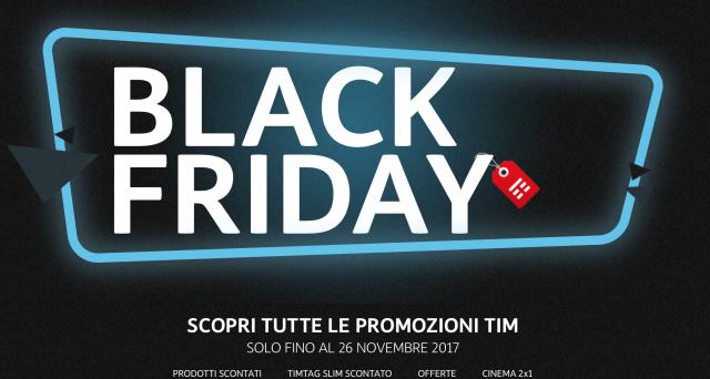 tim black friday 2017 offerte e sconti sugli smartphone. Black Bedroom Furniture Sets. Home Design Ideas
