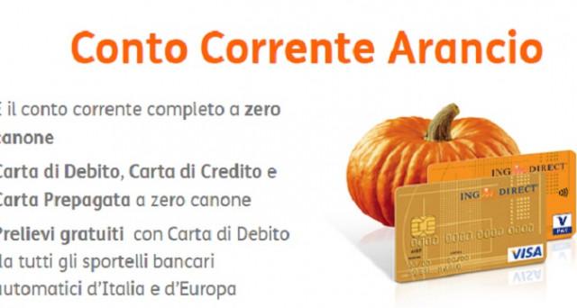 Ecco le caratteristiche del conto corrente Arancio a zero spese e le promozioni di dicembre 2017 per chi lo attiverà tra cui bonus fino a 500 euro.
