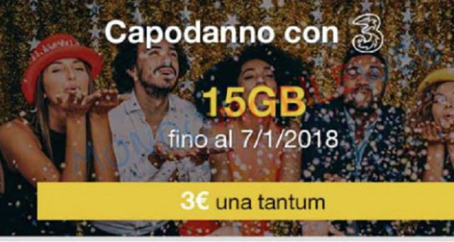 Capodanno 2018 con il botto per Wind e Tre Italia: ecco le super offerte e promozioni tra cui 15 Gb in 4G da 3 euro.