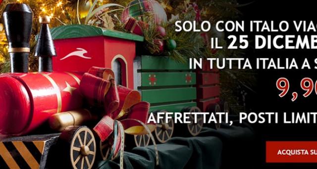 Ecco le migliori offerte di Italo Treno per Natale 2017: biglietti a soli 9,90 euro, Venezia-Roma a 39,90 e molto altro.