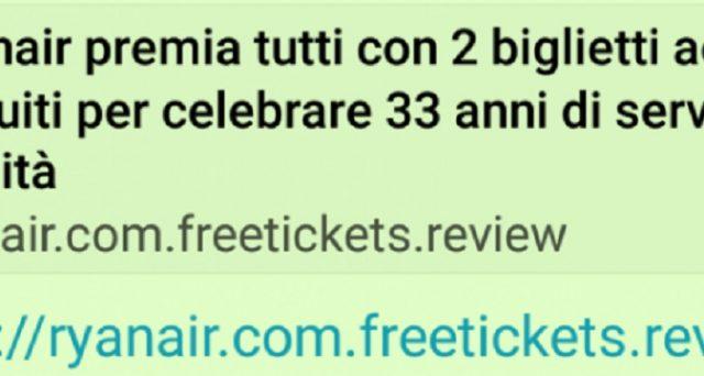 2 biglietti gratis Ryanair per festeggiare i 33 anni: arriva la risposta della compagnia aerea low cost,