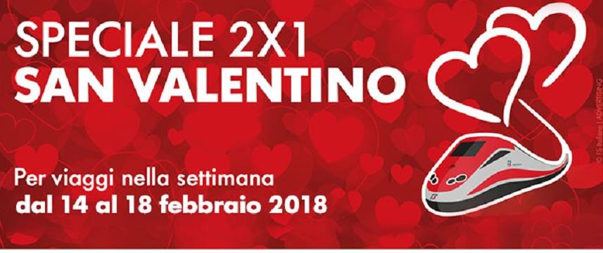 Offerte trenitalia san valentino 2018 young e senior con for San valentino in italia