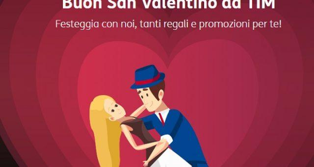 Ecco le super offerte per San Valentino 2018 di Tim e Poste Mobile Tim tra cui 8Gb in 4G gratis, cinema x2 e tanto altro.