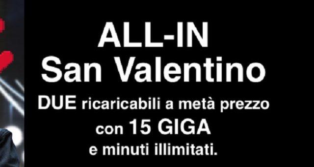Super offerte Speciale San Valentino 2018: l'amore passa per Wind e Tre Italia: ecco le promo tra cui quelle a metà prezzo.