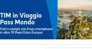 Offerte Tim e Poste Mobile estero