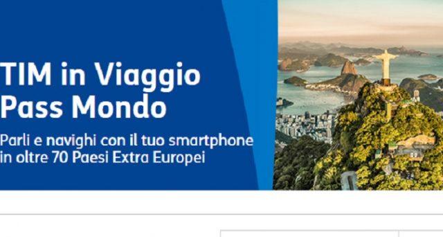 Ecco le offerte di Capodanno 2019 con Tim in viaggio Pass: con Gb in 4G, messaggi e minuti per viaggi in Europa ed Usa.