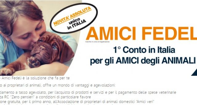 Da oggi ciò che sembrava fantascientifico è diventato realtà: anche i cani e gatti potranno avere un conto corrente. Grazie a Banca di Piacenza.
