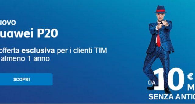 Huawei P20, Samsung Galaxy S9, iPhone 8 e tanti altri smartphone: ecco le super offerte Tim da 5 euro al mese aprile 2018.