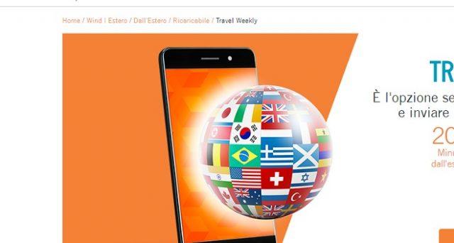 Ecco le promozioni travel ovvero le super offerte Wind per chiamare dall'estero: utili per chi è in viaggio in estate 2018.