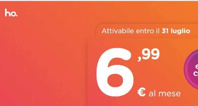Attesa finita: nasce Ho.Mobile, l'operatore low cost di Vodafone. Ecco l'offerta anti Iliad con 30 Gb di internet in 4G, minuti e messaggi a soli 6,99 euro.
