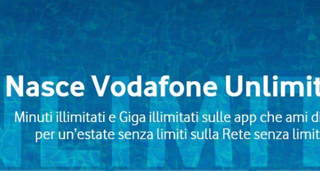 Ecco le mega offerte con minuti e Gb in 4G illimitati con le Vodafone Unlimited x2, x3 e x4Pro per l'estate 2018.