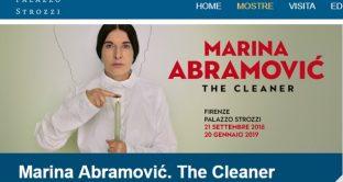 A Palazzo Strozzi di Firenze la mostra dedicata a Marina Abramovic, una delle artiste più importanti degli ultimi decenni.