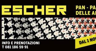 Ecco il costo dei biglietti, promozioni 1° mese e riduzioni della mostra di Escher a Napoli dal 1° novembre 2018.