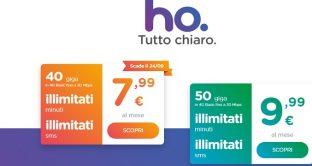 Gli utenti di Ho.Mobile sono allibiti: arrivano le rimodulazioni  per le tariffe all'estero, aumenta di molto il costo degli sms e internet.