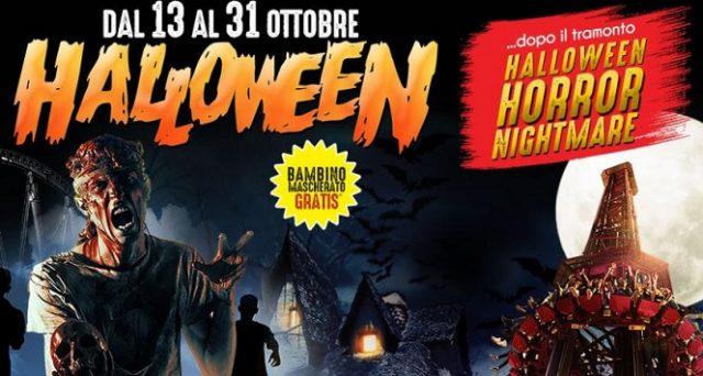 Ecco prezzi, offerte, super sconti ed eventi di quest'anno a Rainbow Magicland per Halloween 2018.