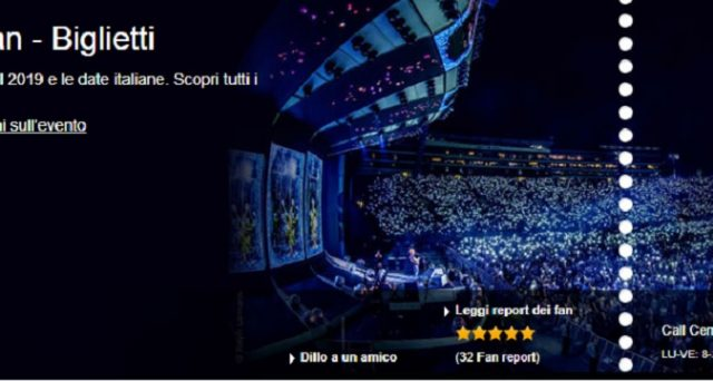 Sold out per i biglietti per il concerto di Milano e Roma di Ed Sheeran: oggi 1° ottobre 2018 arrivano quelli per Firenze in anteprima.