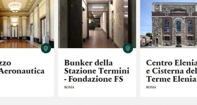 Ecco le date, i luoghi aperti a Napoli e Roma ed il prezzo per le Giornate FAI d'Autunno 2018.