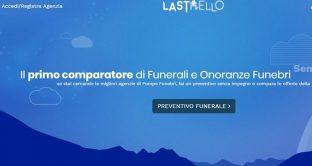Arriva dopo quello per ristoranti ed alberghi anche il comparatore di offerte per funerali a basso costo: ecco Lastello.it. E inoltre con Whatsapp si potrà condividere il necrologio.