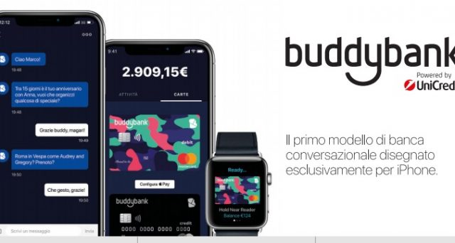 Chi aprirà un conto corrente BuddyBank e spenderà almeno cinquecento euro tramite