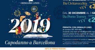 Offerte Grimaldi Lines per il Capodanno 2019 a Barcellona