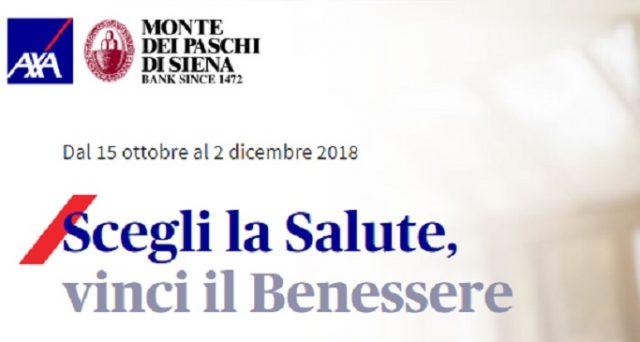 """Ecco le principali caratteristiche dell'assicurazione sanitaria """"Formula Benessere"""" della Banca Monte dei Paschi di Siena e come vincere 20 weekend benessere per 2 persone."""