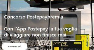 Ecco le modalità di adesione e come partecipare al concorso Postepay premia grazie al quale ci saranno in palio ogni mese 500 voucher Volagratis da 100 euro.