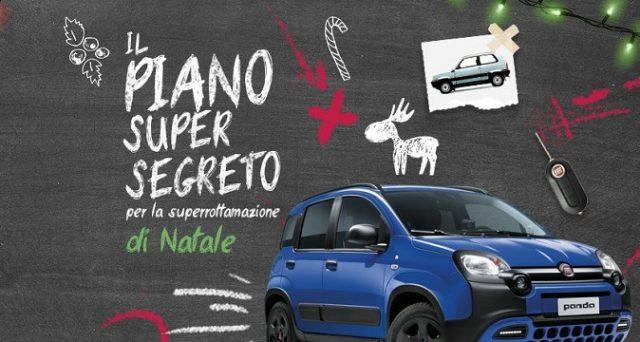 Ecco le offerte Fiat con la superrottamazione su Panda e Tipo per il Natale 2018 anche con rottamazione auto.