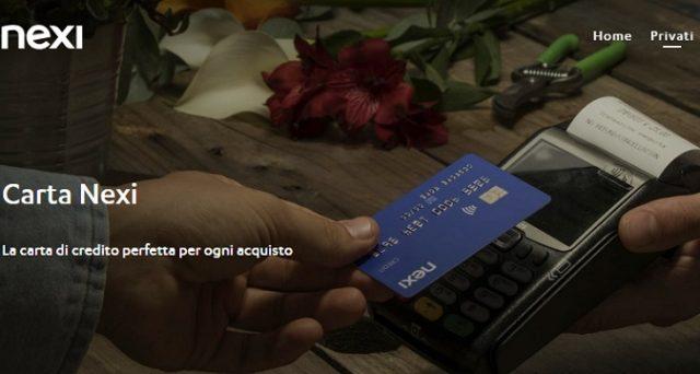 Ecco le principali caratteristiche della carta di credito Nexi individuale ed i costi.