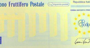 Caratterstiche, tipologie e prescrizione dei buini fruttiferi postali di Poste Italiane.