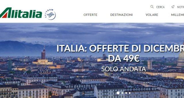 Ecco le principali offerte di dicembre 2018 di Alitalia dall'Italia per l'Italia nonché le caratteristiche della tariffa Economy Light.