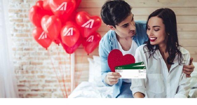 Arrivano le offerte di Alitalia per San Valentino 2019: si parte da voli di andata e ritorno per l'Italia e l'Europa da 79 euro.