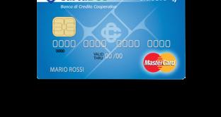 Caratteristiche e vantaggi della carta Gold Banca di Credito Cooperativo.