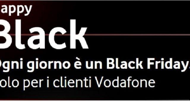 E' partita l'iniziativa Vodafone Happy Black grazie alla quale si avranno tanti sconti su Enistation, Booking, Alitalia e tanti altri.
