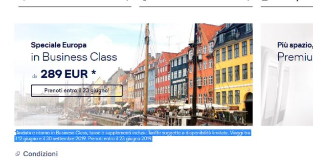 La compagnia tedesca Lufthansa lancia una strepitosa offerta per volare in Europa a partire dalla cifra di 284,17 euro un volo di andata e ritorno: ecco le info in merito.