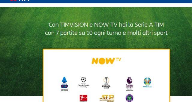 Ecco le informazioni sulla super promozione combinata Tim Vision e Now Tv nonché le offerte Tim rete fissa Super.