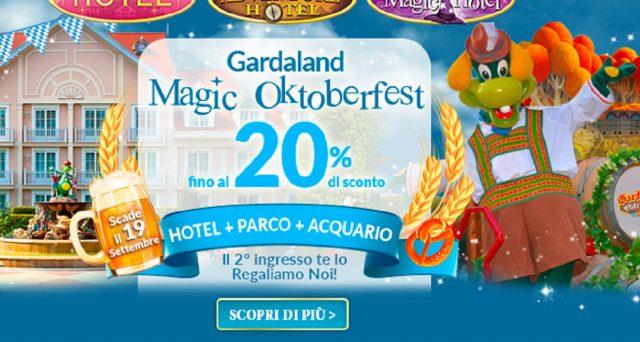 Ecco le offerte di Gardaland per il Magic Oktoberfest.