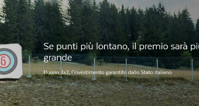 Info e caratteristiche buoni fruttiferi postali 3x2 di Poste Italiane.