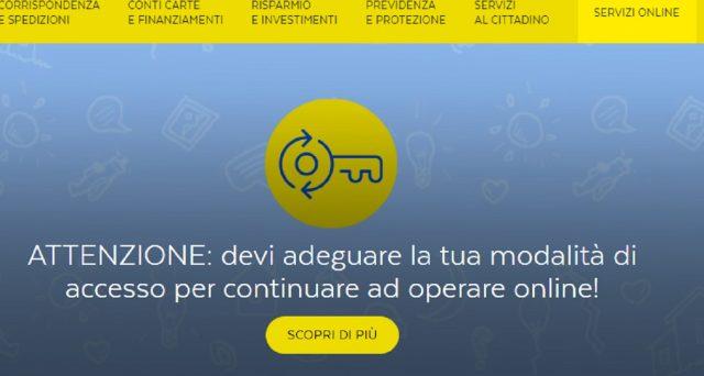 Anche oggi 17 settembre molti utenti non riescono ad accedere ai servizi di Poste Italiane da sito e dalla app.