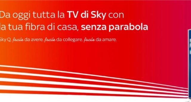 Sono arrivate le nuovissime offerte di Sky tra cui quella con la fibra di casa senza parabola. Prosegue la super promo con Dazn incluso.